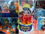 Naruto theme Birthday Invitation Naruto themed Party for Leandro Achilles athena Miel 39 S
