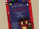 National Lampoons Christmas Vacation Party Invitations Christmas Vacation Party Invitations A Birthday Cake
