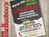 National Lampoons Christmas Vacation Party Invitations Griswold themed Christmas Vacation Holiday Party Invitation