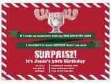 National Lampoons Christmas Vacation Party Invitations Surprised Moose Mug Christmas Vacation Invitations