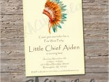Native American Baby Shower Invitations Indian Invitation Do It Yourself Digital Print Native