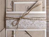 Natural Paper Wedding Invitations Natural Recycling Paper Wedding Invitation by