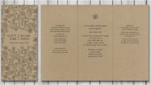 Natural Paper Wedding Invitations Natural Wedding Stationery Paperchain Wedding Stationery