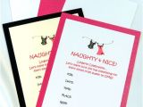 Naughty or Nice Bridal Shower Invitations Naughty & Nice Bridal Shower Lingerie Invitations