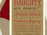 Naughty or Nice Bridal Shower Invitations Naughty or Nice Bridal Shower Invitation