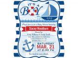 Nautical Baby Shower Invitation Wording Free Nautical Baby Shower Party Invitations Templates