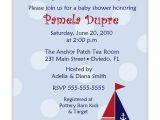 Nautical Baby Shower Invitations Cheap Cheap Nautical theme Baby Shower Invitations Templates