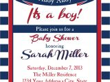 Nautical Baby Shower Invitations Etsy Nautical Baby Shower Invitation Ahoy Ahoy by Sldesignteam