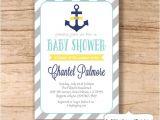 Nautical Baby Shower Invitations Etsy Nautical Baby Shower Invitation Anchor by Sweetprovidence