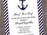 Nautical Baby Shower Invitations Etsy Nautical Baby Shower Invitations 1 00 Each with by
