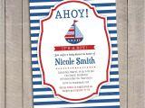 Nautical Baby Shower Invitations Etsy Nautical Invitation Nautical Baby Shower Invitation Baby