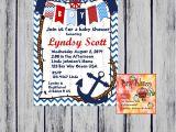 Nautical Baby Shower Invitations Etsy Printable Nautical Baby Shower Invitation by Partypaloozza