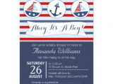 Nautical Baby Shower Invitations for Boys Boys Nautical Baby Shower Invitation 11 Cm X 16 Cm