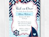 Nautical Baby Shower Invitations for Boys Nautical Baby Shower Invitation for Boys Ahoy It S A Boy