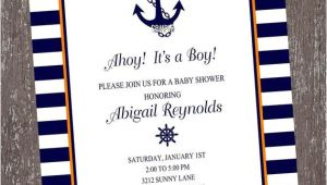 Nautical Birthday Invitation Template Free 40th Birthday Ideas Nautical Birthday Invitation Templates