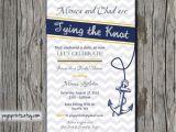 Nautical Bridal Shower Invitation Template Bridal Shower Invitation Templates Nautical Bridal Shower