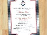 Nautical Bridal Shower Invitation Template Free Bridal Shower Invitations Printable Nautical theme