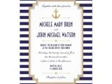 Nautical Bridal Shower Invitation Template Stylish Nautical Wedding Invitation Personalized Invite