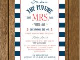 "Nautical Bridal Shower Invites Items Similar to Navy and Coral Nautical ""let S Shower the"