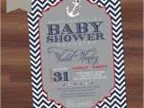 Nautical theme Baby Shower Invitations Etsy whoopsie