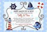 Nautical themed Baby Shower Invites Money Savvy Fashionista Whimsical Nautical Baby Shower
