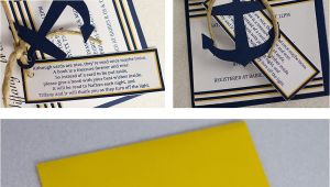 Nautical themed Baby Shower Invites Nautical themed Baby Shower Invitations