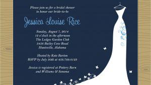 Nautical themed Bridal Shower Invitations Bridal Shower Invitations Bridal Shower Invitations