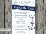 Nautical themed Bridal Shower Invitations Nautical Bridal Shower Invitation Printable by Pegsprints