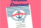 Nautical Wedding Invitation Template Free Free Printable Nautical Wedding Invitations