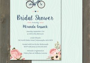 Navy and Blush Bridal Shower Invitations Bridal Shower Invitation Blush Pink and Navy Blue Floral