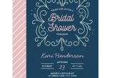 Navy and Blush Bridal Shower Invitations Navy Blush and Mint Bridal Shower Invitation Zazzle