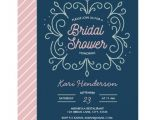 Navy and Blush Bridal Shower Invitations Navy Blush and Mint Bridal Shower Invitation Zazzle