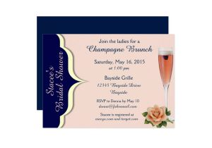 Navy and Blush Bridal Shower Invitations Navy Cream and Blush Bridal Shower Invites Zazzle