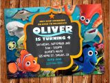 Nemo Birthday Party Invitations Finding Dory Invitation Finding Dory Invite Finding Nemo