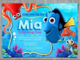 Nemo Birthday Party Invitations Finding Dory Invitation Finding Nemo Dory Invite Disney