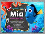 Nemo Birthday Party Invitations Finding Dory Invitation Finding Nemo Invite Disney Pixar
