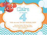 Nemo Birthday Party Invitations Finding Nemo Birthday Party Invitation Digital File