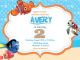 Nemo Birthday Party Invitations Finding Nemo Birthday Party Invitations Home Party Ideas