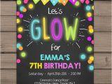 Neon Party Invitations Templates Free Best 25 Neon Glow Ideas On Pinterest Diy Blacklight
