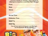 Nerf Gun Birthday Party Invitations Printable Nerf Wars Bouncy Castles Corporate events In