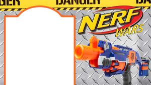 Nerf Gun Party Invitation Template Nerf Gun Party Invitation Templates Free Invitation