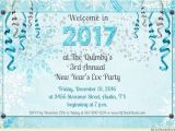 New Year Party Invitation 2017 New Year Party Invitation Card 2018 Merry Christmas