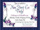 New Year Party Invitation Card Design New Years Eve Masquerade Gala Invitation 2018 Holiday