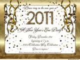 New Year Party Invitation Card Design New Years Eve Party Invitations
