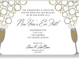 New Year Party Invitation Wording Samples Nye Party Invitation