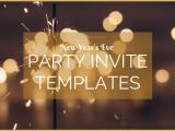 New Years Eve Party Invitation Templates Free Overnight Prints Blog