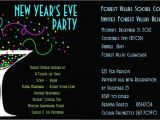 New Years Eve Party Invitation Templates Free Printable New Years Eve Party Invitations Free