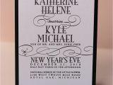New Years Eve Wedding Invitations Wording Kathryn Kyle New Years Eve Wedding Invitations