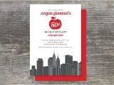 New York Party Invitations Items Similar to New York Big Apple Party Invitation 15