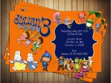 Nick Jr Birthday Invitations Novel Concept Designs Nick Jr Birthday Invitation and
